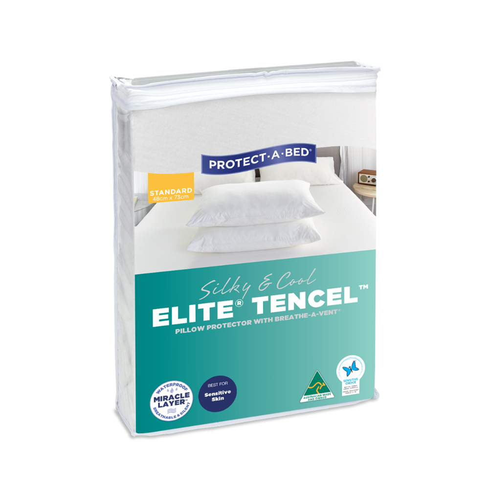 Protect-A-Bed Tencel Elite Waterproof Pillow Protector