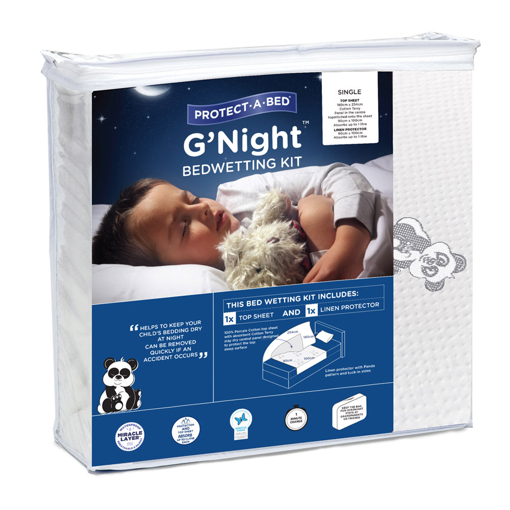 Protect A Bed G'Night Waterproof Bedwetting Kit