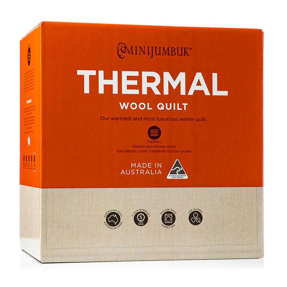 MiniJumbuk Thermal Australian Wool Quilt