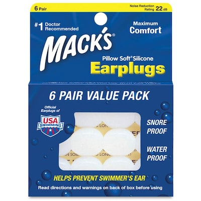 Mack's Moldable Pillow Soft Silicone EarPlugs
