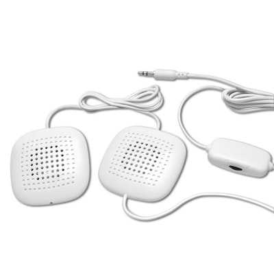 Sound Oasis Sleep Therapy Pillow Speakers with Volume Control