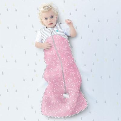Love to Dream Sleep Bag 0.2 Tog Pink