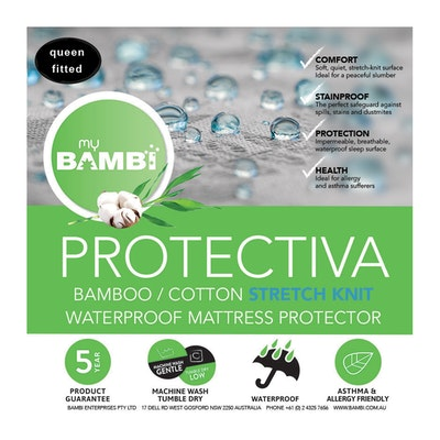 Bambi Protectiva Waterproof Stretch Knit Mattress Protector