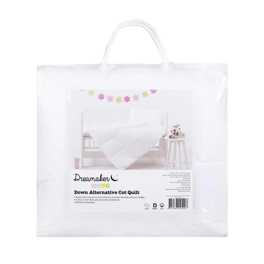 Dreamaker Down Alternative Microfibre Cot Quilt