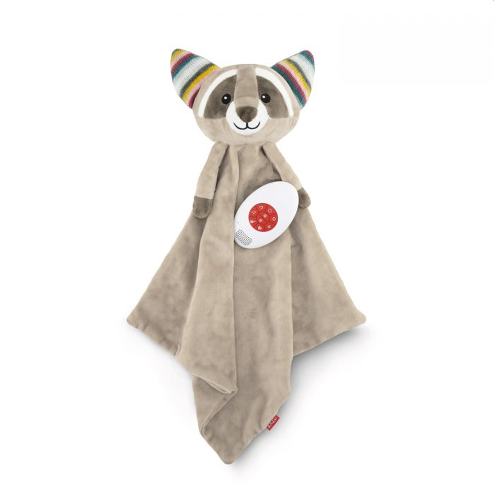 Zazu Robin The Racoon Baby Comforter with Heartbeat Sound
