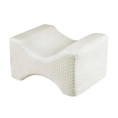 SleepLabs Hourglass Contoured Memory Foam Knee Pillow Side