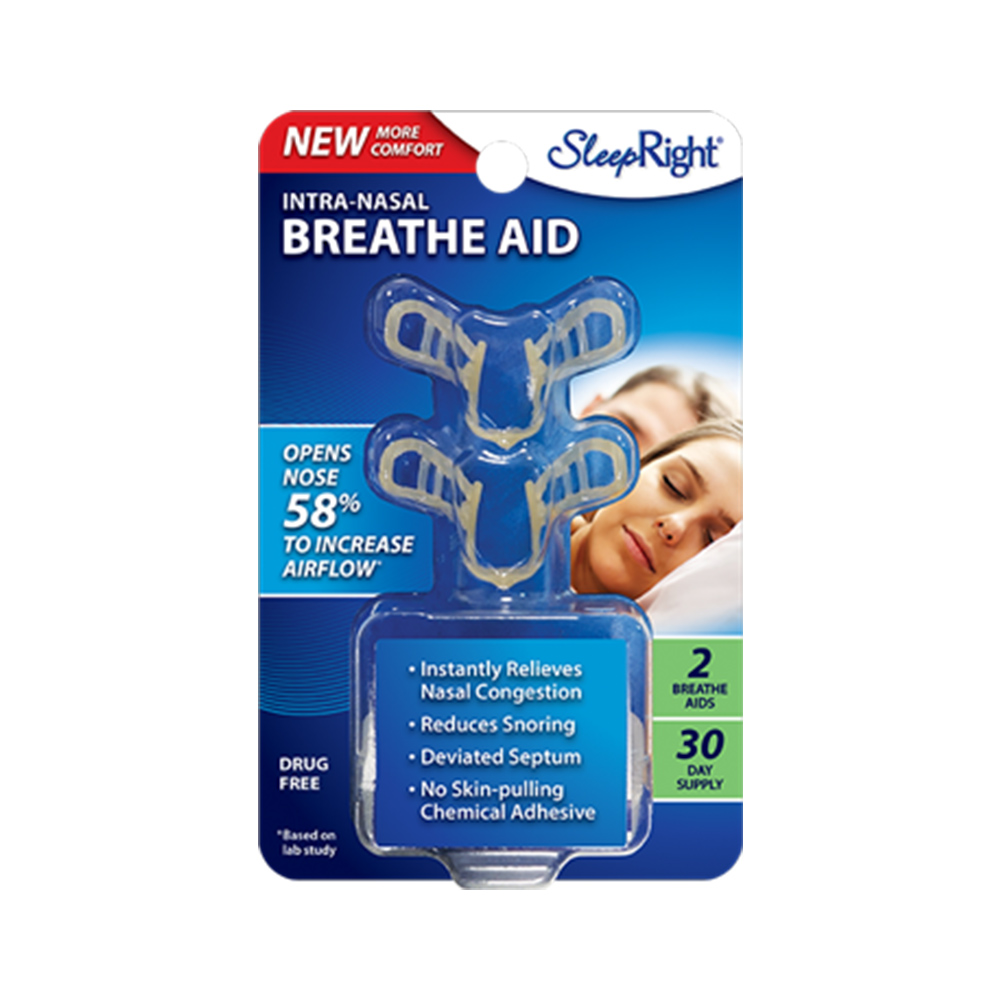 SleepRight Intra Nasal Dilator Breathing Aid