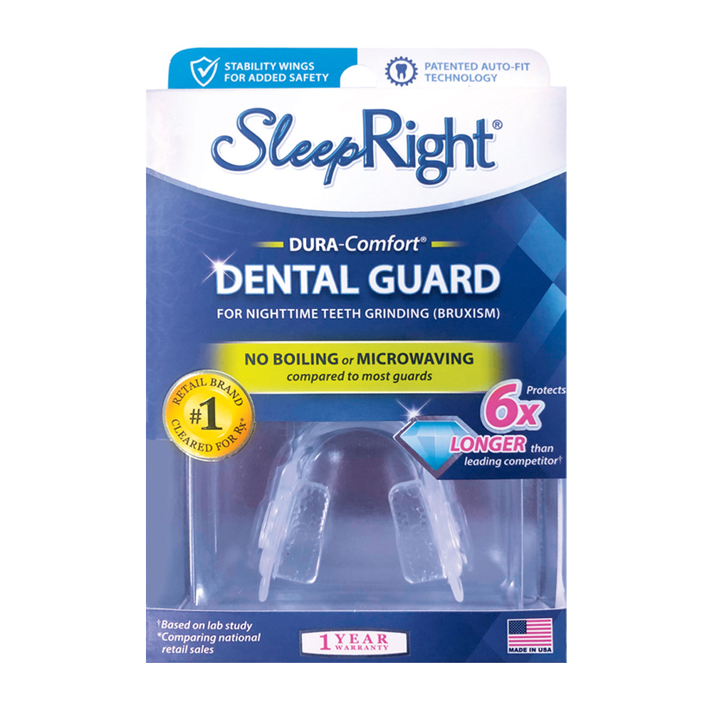 SleepRight Dura Comfort Teeth Grinding Dental Mouth Guard