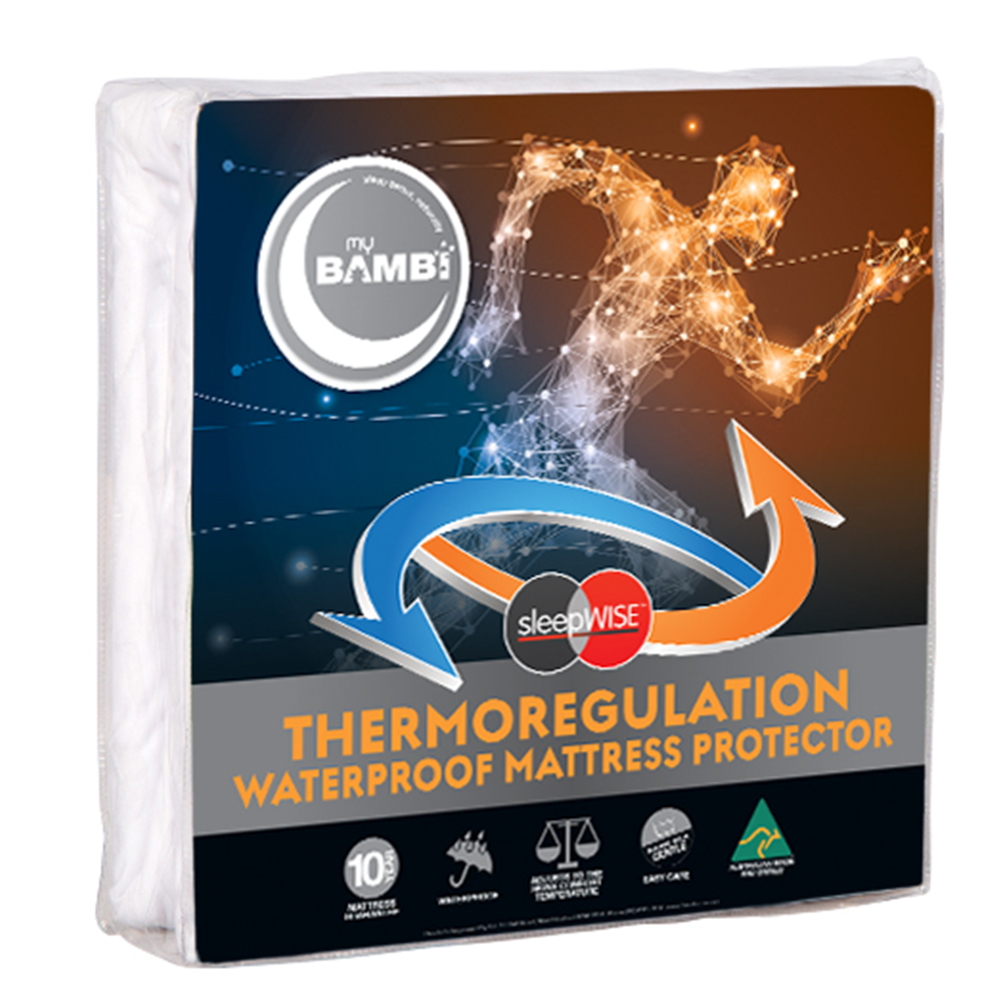 Bambi SleepWise Thermoregulation Waterproof Mattress Protector