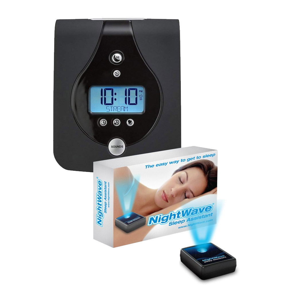 Sound Oasis and NightWave Sleep Assistant Combo - White Noise Machine