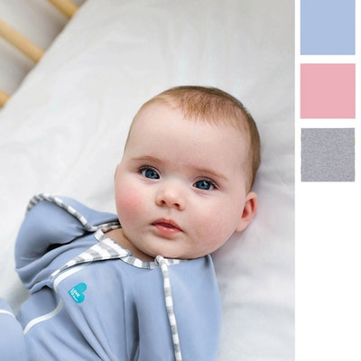 Love to Swaddle Up Original Baby Blue Swatch
