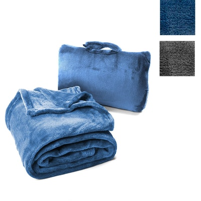 Cabeau 4 in 1 Fold and Go Travel Blanket with Case Swatch