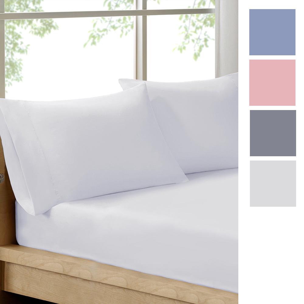 100% Organic 3 Piece Cotton Fitted Sheet Set