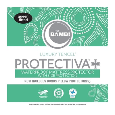 Bambi Protectiva+ Tencel with Side Protection Waterproof Mattress Protector