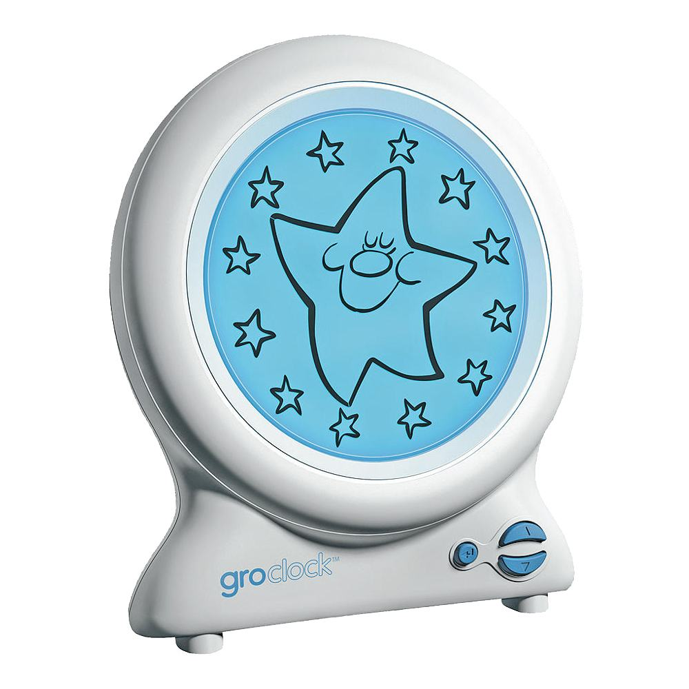 Tommee Tippee Original Groclock Childrens Sleep Training Clock With Book