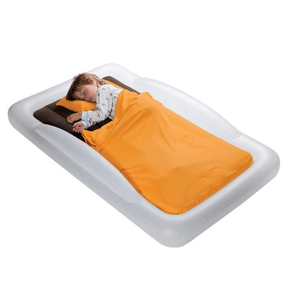 The Shrunks Indoor Toddler Travel Bed with Electric Pump Base