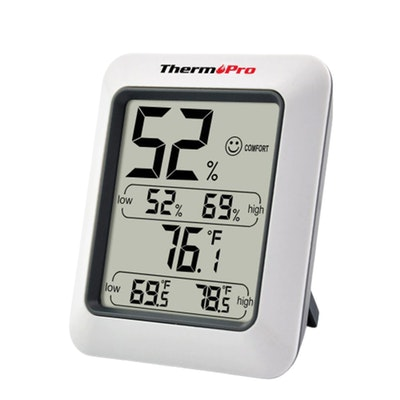 ThermoPro Digtal Thermometer and Humidity Level Hygrometer Thumbnail