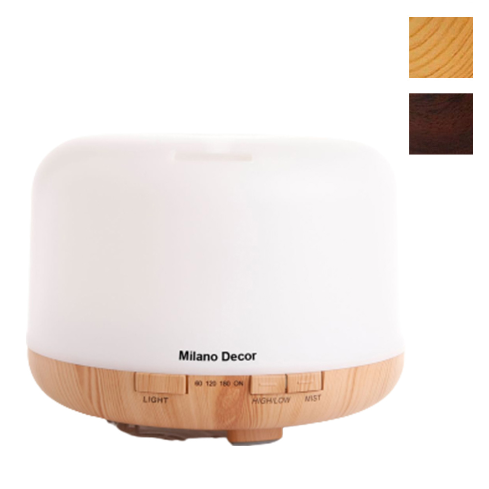 Mood Light Aroma Ultrasonic Diffuser with Essential Oils