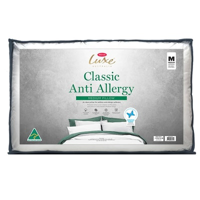 Tontine Luxe Classic Anti Allergy Medium Pillow Packaging