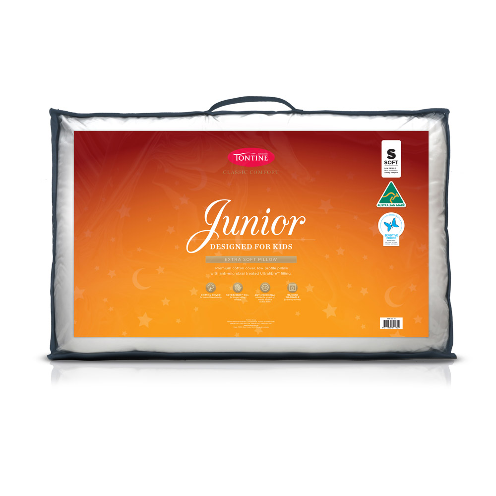 Tontine Classic Junior Pillow Soft and Low