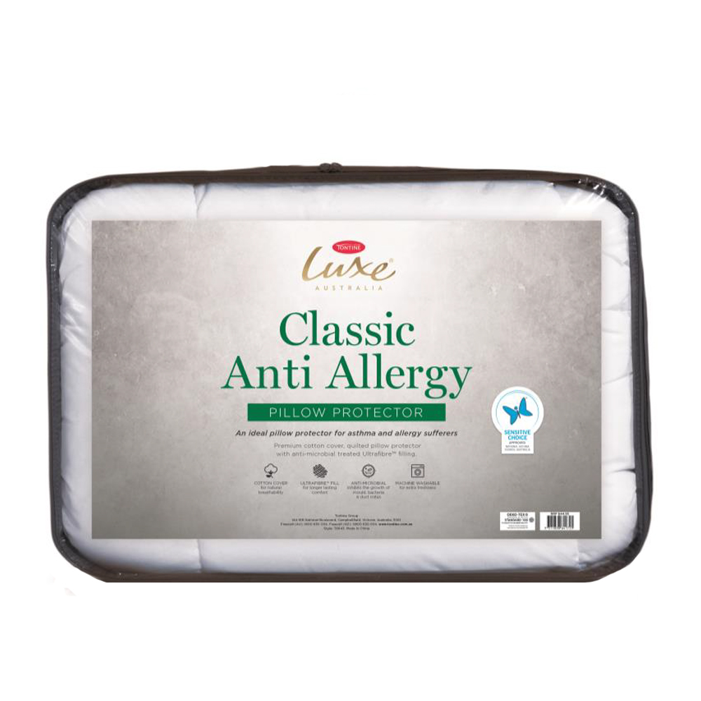 Tontine Luxe Classic Anti-Allergy Pillow Protector