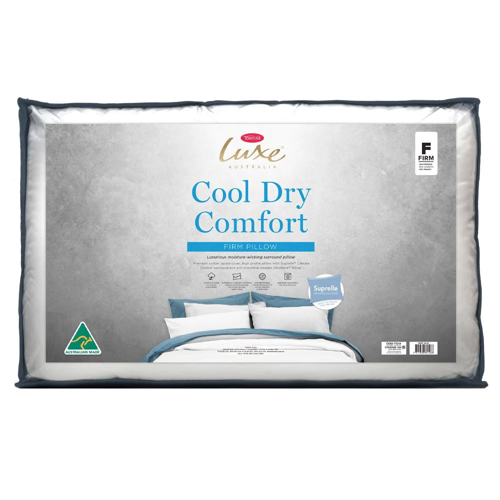 Tontine Luxe Cool Dry Comfort Pillow
