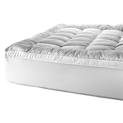 Tontine Luxe Cool Dry Comfort Mattress Topper on Bed