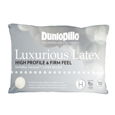Dunlopillo Luxurious Latex Pillow High Profile and Firm Feel