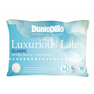 Dunlopillo Luxurious Classic Latex Pillow Medium Profile and Medium Feel