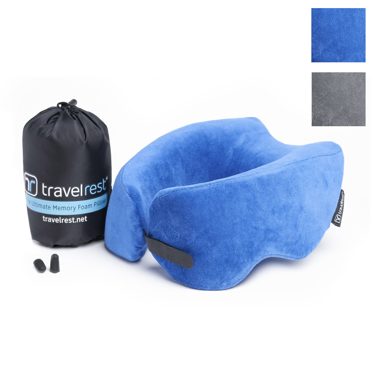 Travelrest Nest Ultimate Neck Memory Foam Travel Pillow