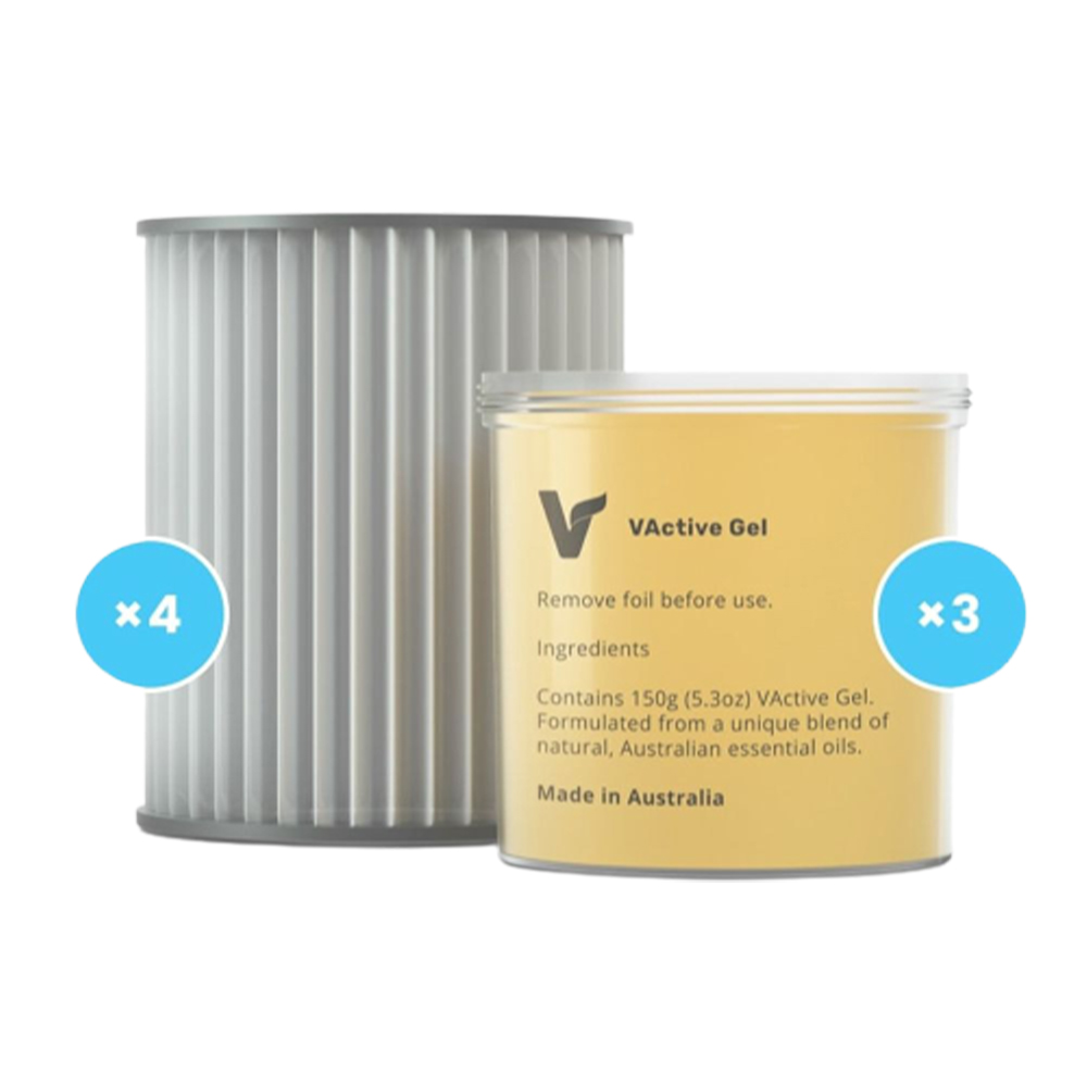 VBreathe Gel and Filter Replacement Pack