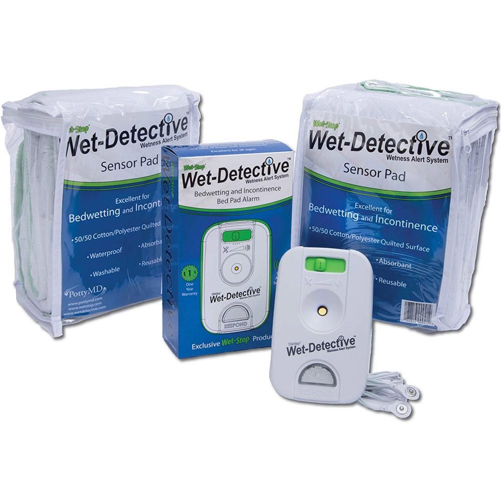 PottyMD Wet Detective Wireless Bed Wetting Alarm and Mattress Pad