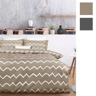 Essentially Home Living Zachary Quilt Cover Set Swatches