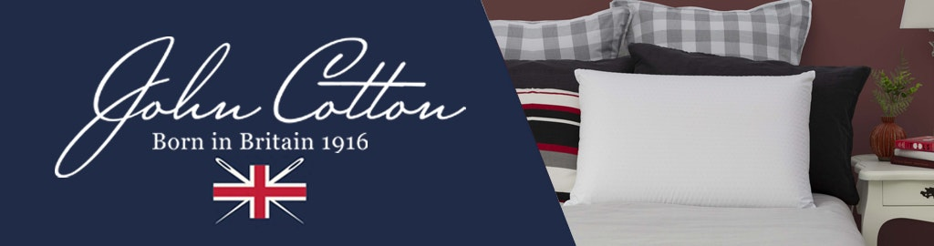 John Cotton Classic Talalay Latex Pillow High Profile